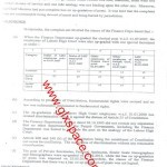 Decision Copy of Upgradation of Clerical Staff by the Punjab Mohtsib