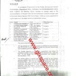 Notification of Regularization of Contract Employees of TMA Sargodha wef 1st March 2013