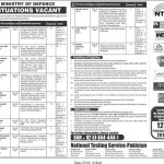 Situations Vacant at Ministry of Defence