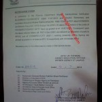 Notification of Upgradation of Teachers Posts in Khyber Agency