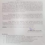 Notification of Inclusion All Accounts Posts in the Existing Posts of CGA Organization