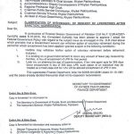 Clarification of Withdrawal of Request of LPR / Retirement After Sanction / Notification- KPK
