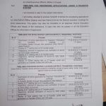 Notification of Timelines Processing Applications under E-Transfer System