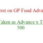 How to Calculate Interest on GP Fund Advance?