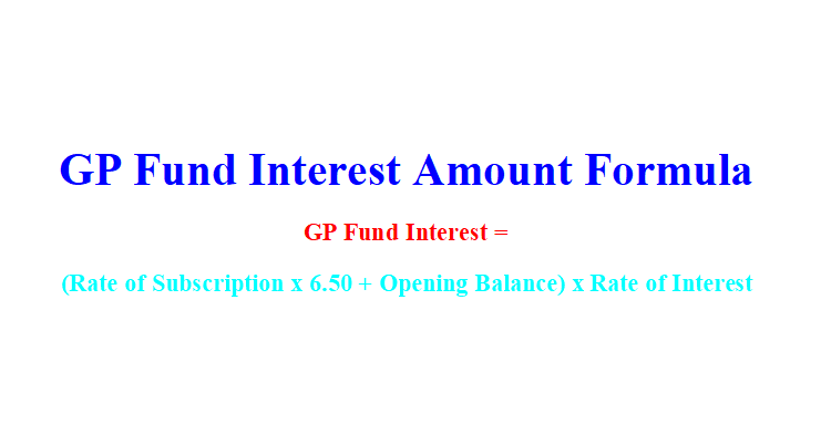 GP Fund Interest