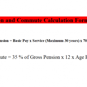 How to Calculate Pension and Commute?