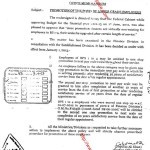 Notification of Promotion of the Posts of Lower Grade Employees wef 1st January 2013