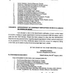 Notification of Regularization of BPS-16 & Above Contract Employees of Punjab