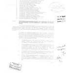 Notification of Treating the Employees Doing Unauthorized Absence from Duty