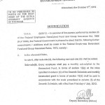 Notification of Amendment in Federal Employees Benevolent Fund & Group Insurance Rules-1972