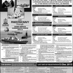 Join Pakistan Navy through Short Service Commission Course 2014-A