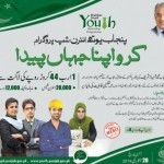 Announcement of Shahbaz Sharif Youth Internship Programme