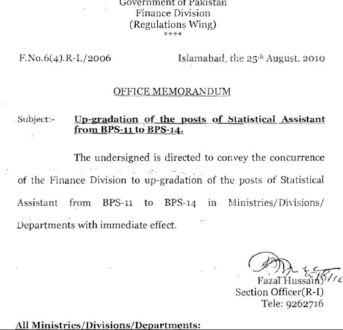 Upgradation Statistical Assistant