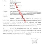 Pay on Eid-ul-Fitr 2014 by Federal Govt-Notification Issued