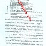 Finance Department Punjab has Issued Notification of Increase in Pension 2014 & Minimum Pension