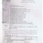 Time Scale Notification Sindh Govt for School Teachers 2010
