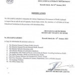 Notification of Ban on Sale & Use of Cigarettes/Pan/Gutka in Educational Institutions