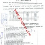 Enhancement of Chief Minister's House Allowances-Sindh