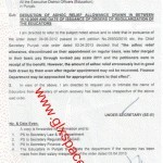 Deduction of Adhoc Relief Allowance of the Educators of Punjab Govt