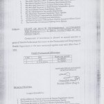 Health Professional Allowance 2012 by Govt of Balochistan