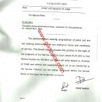 Constitutional Petition No: D5171/2014-Upgradation of Statistical Assistant