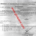 Upgradation of the Posts of Accounts Cadre to BPS-16 & BPS-17 by UET Peshawar