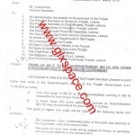Notification of Grant of BPS-17 to Superintendents and Other Supervisory Staff in Punjab
