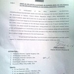 Notification of Grant of 20% Special Allowance to CDA Employees wef 01-03-2013