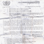 Conversion of Temporary Posts of Allied Health Professional into their Regularization