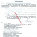 Notification of Time Scale Upgradation of IESCO Employees