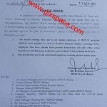 Notification of Eid-ul-Azha Bonus for MEPCO Employees 2015