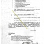 Notification of Upgradation of Senior Clerk/Assistant to BPS-16 in Balochistan