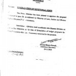 Summary of the Upgradation of Clerical Staff Approved by Prime Minister