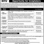 10000 Invigilators Vacancies in NTS