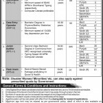 Vacancies in Military Accountant General (MAG)