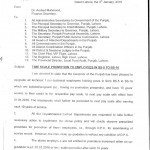 Notification of Time Scale Promotion to Employees of BPS-05 to BPS-16 Punjab