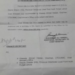 Request for Upgradation of Auditors of Local Fund Audit Punjab