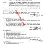 Advance Pay on Eid-ul-Fitr Punjab Govt Employees