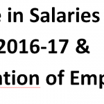 Increase in Salaries in Budget 2016-17 According to Budget Speech