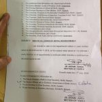 Notification of Ban on All Kind of Initial Recruitments Sindh