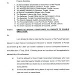 All Notifications Issued by Punjab Finance Department Regarding Pay & Allowances