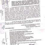Notification of Special Judicial Allowance Sindh