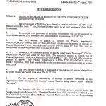 Sindh Govt Pension Increase Notification 2016