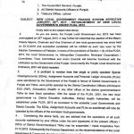 Punjab Civil Administration Ordinance 2016 and Related Notifications