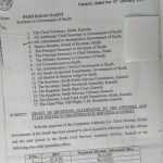 Notification of Grant of Incentive Allowance Sindh Civil Service Academy