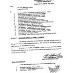 Notification of Increase Family Pension Punjab Govt Employees from 50% to 75% of the Year 2010