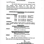 Notification of Office Timings Courts Punjab during Holy Month Ramzan