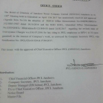 Notification of Revised Rates Conveyance Charges by JPCL