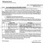 Grant of M.Phil Allowance @Rs.2500/- per Month