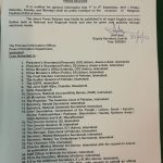 Notification Eid-ul-Azha 2017 Holidays by Federal Government